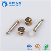 泰锋专业生产高品质三合一连接件 厂价直销M6*40三合一连接杆厂家