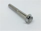 非标定做4.8级8.8不锈钢外六角法兰螺栓汽配螺丝六角法兰螺丝