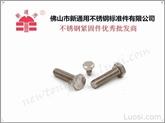 佛山新通用供应304不锈钢外六角螺栓GB30 GB14PM5--M20