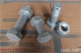 4.8级带孔螺栓 热镀锌带孔螺栓