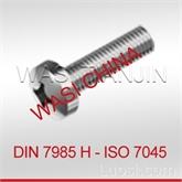 WASI-CN A2 DIN7985 GB818十字盘头螺钉