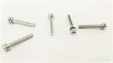 耐力Durable 机械牙带垫圈螺丝M3x22WX
