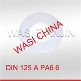 WASI现供DIN 125 PA6.6 尼龙平垫圈D2.2-D10.5