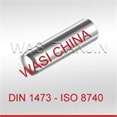WASI 现货DIN1473不锈钢槽 销(带倒角及全长平行沟槽)