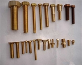 南京黄铜六角螺栓  黄铜螺丝