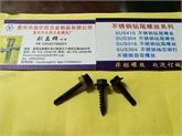 专业生产SUS410、304不锈钢六角华司钻尾及自攻钉(电泳黑)5.5*25  6.3*25