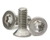 不锈钢沉头梅花螺丝、不锈钢螺丝定制,梅花头螺丝定制,深圳世世通螺丝定制厂家