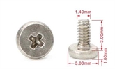 厂家直销十字平头手机小螺丝,微型螺丝,电子产品螺丝定制,世世通非标螺丝定制厂家