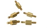 无头双牙黄铜螺丝现货供应,非标黄铜螺丝定制,深圳世世通非标异形螺丝定制厂家