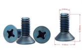 十字沉头彩色螺丝钛螺丝、军工设备螺丝,单模机螺丝,十字螺丝定制,世世通非标异形螺丝定制厂家