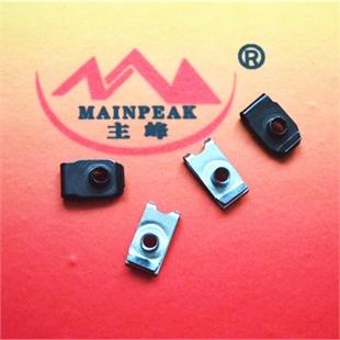 B型板簧螺母 簧片螺母 卡簧 卡扣 卡式螺母 Q 397 厂家承接各种冲压件加工 可来图加工定制