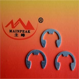 开口挡圈 DIN6799 厂家承接各种冲压件加工 可来图加工定制