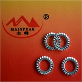 外锯齿锁紧垫圈(6798A),内齿锁紧垫圈 DIN 6797 厂家承接各种冲压件加工 可来图加工定制