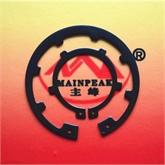 高品质弹簧钢65MN 轴用挡圈DIN984 各式挡圈大量批发 厂家承接各种冲压件加工 可来图加工定制
