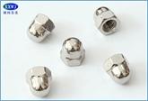 现货304/316不锈钢盖形螺母美制盖帽GB923/DIN1587M3/M4~~M20,6#~1/2
