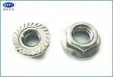 厂家直销304不锈钢 法兰面螺母DIN6923  M4--M12