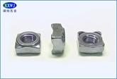 现货供应304不锈钢四角焊接螺母DIN928/GB13680 M4/M5/M6/M8/M10/M12