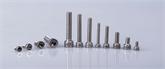 厂家直销不锈钢DIN912滚花内六角螺栓