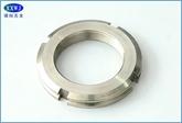 现货供应304不锈钢圆螺母  GB812  M10/M12/M16~~M50