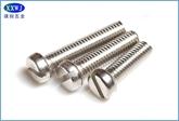 现货供应不锈钢304开槽螺钉 圆柱头GB65/半圆头GB67/沉头GB68 M1.6/M2~~M10