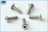 厂家直销304不锈钢内六角螺钉  护栏螺钉M6X16,6X20,M6X25~~M6X60
