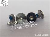 安盛专业加工:内六角圆形 CD螺纹 耐落电子螺钉 ,CD纹螺丝,非标件