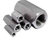 304不锈钢加长加厚六角螺母 加大螺帽 丝杆连接接头螺母M8