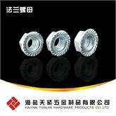 ISO 10663 细牙六角法兰螺母  带齿法兰螺母