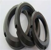 厂家直销国标圆螺母 高强止退螺母 并帽 8.8级元螺母 圆螺帽