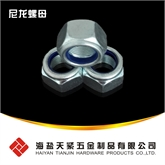 高品质DIN982 尼龙螺母 尼龙锁紧螺母 尼龙防松螺母