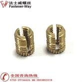 铜螺母 直纹螺母,开口铜螺母 热熔螺母,PRESS-LOK手机壳螺母M1.5