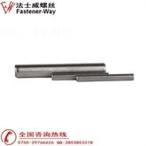 厂家直销GB119 正宗304不锈钢圆柱销 定位销 固定销 销钉 销子M5M6M7M8M9M10