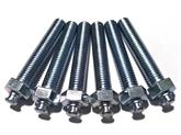 非标件 异型螺丝 特殊螺丝 外六角调整螺栓 底脚螺丝