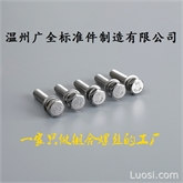 温州广全厂家直销304不锈钢切边六角组合螺钉9074.17