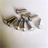 内六角圆头带介螺钉ISO7380.2