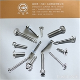 410不锈钢5.5系列六角华司钻尾螺丝-R