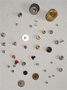 铜镶嵌异型热熔螺母图像检测设备