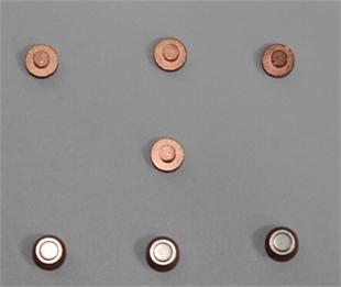 银触点精密五金零件光学影像全检筛选机