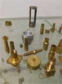 CNC铜车件,CNC精密车铣复合件,铜钉,铜柱,铜螺母.非标铜车件