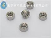 厂家直销泓瑞五金不锈钢304圆形压铆螺母 CLS-M6-1  M6-0  M6-2 机柜铆螺母