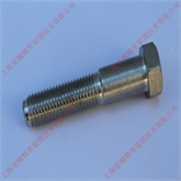 Inconel 600六角头粗杆半牙螺栓