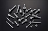 厂家直销 高强度国标汽配件 达克罗系列外六角法兰螺栓