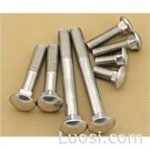 供应6.8级马车螺栓螺丝 GB12 半圆头方颈螺栓螺丝 紧固件 标准件