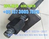 供应M25精轧螺纹钢螺母/连接器M25预应力螺母锚具