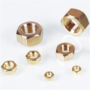 黄铜六角螺母