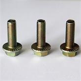 专业生产8.8级六角头法兰面螺栓螺丝 高强度标准紧固件法兰面螺丝 DIN6921
