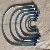 厂家直销 u型螺栓 u型管卡 u型抱箍 u型丝 专业定制各种地脚U型丝双头螺栓