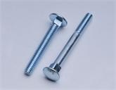 专业生产8.8级高强度标准紧固件马车螺栓螺丝 小半圆头低方颈螺栓 GB801