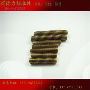 铜牙条 牙棒 丝杆 全螺杆 通丝 全螺纹吊杆 扣丝
