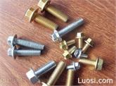 专业生产标准紧固件12.9级高强度小系列六角头法兰面螺栓螺丝 GB16674